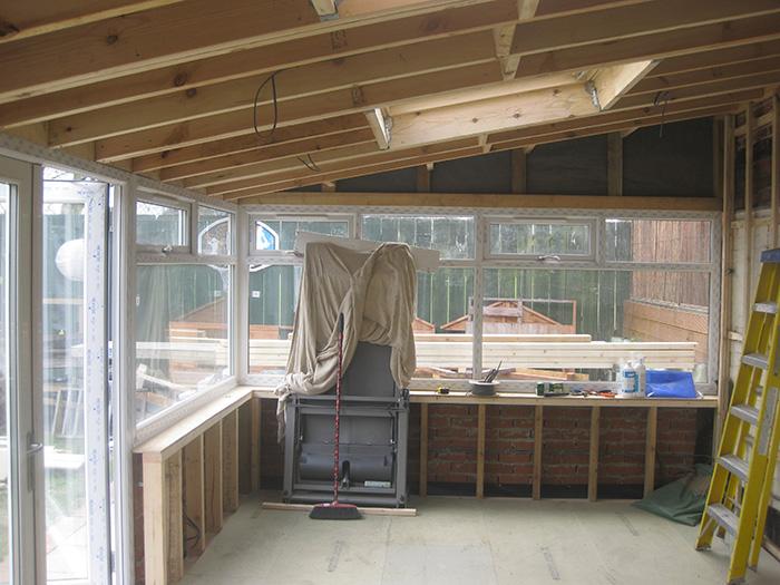 Interior in progress 9
